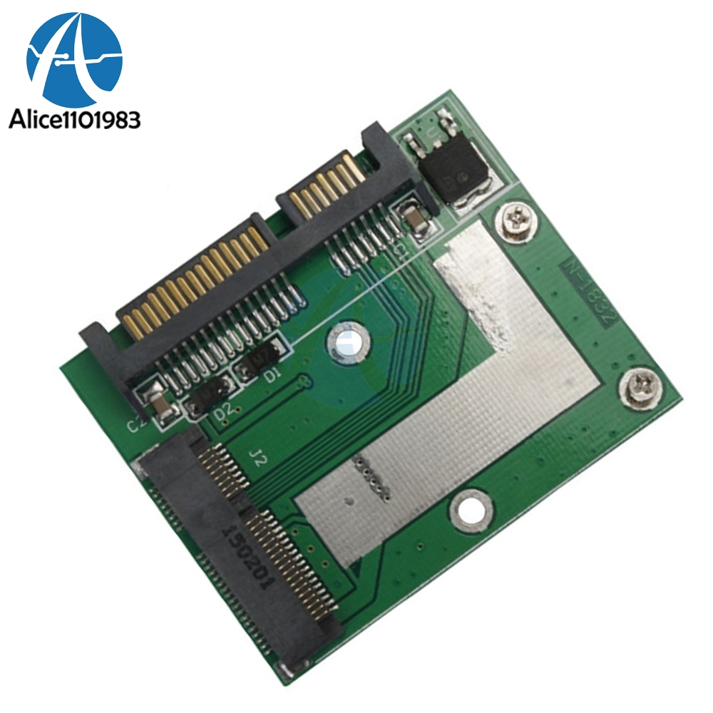 Universal Standard mSATA <font><b>Mini</b></font> <font><b>PCIE</b></font> SSD to 2.5 Inch SATA 6.0 <font><b>Gps</b></font> Adapter Converter Card Module Board For Laptop Desktop image