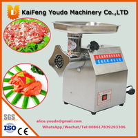 UDJR 12 Manual Stainless Electric Meat Garlic Chili Carrot Grinder Machine Electric Meat Grinder Price Meat