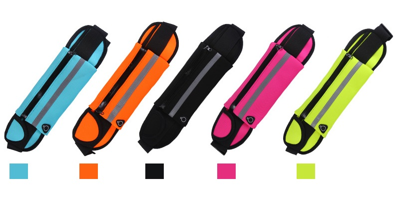 Outdoor Running Waist Bag Waterproof Mobile Phone Holder Belt Belly Bag Women Gym Fitness Bag Lady Sport Accessories