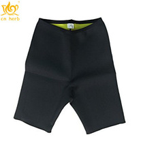 Cn Herb Sweat Shapers Pants Hot Slimming Sauna Shorts Black Free Shipping