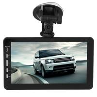 VODOOL 7inch TFT 1080P Dual Lens Car Truck DVR Camera 170 Degree Auto Night Vision Motion Detection Suction Cup Dash Camera