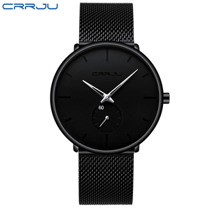 Image 4 - CRRJU Fashion Casual Mens Watches Waterproof Army Military Sport Analog Quartz Wristwatch For Men Gift Clock Relogio Masculino