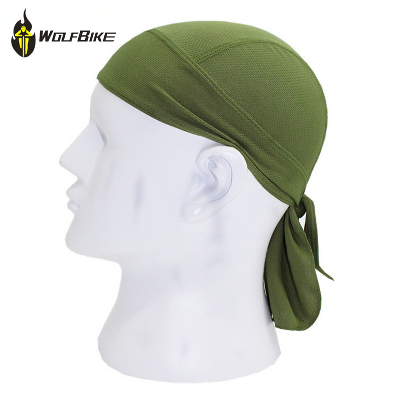 WOSAWE Outdoor Cycling Cap Quick Dry Clean Shawl Headband Cap Summer Men Sneakers Riding Bandana Ciclismo Riding Hood Caps