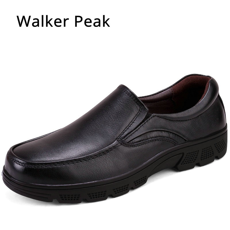 Size 38-50 Men's Genuine Leather Shoes Business Dress Moccasins Flats Slip On New Men's Casual Shoes Dress Men Business Shoes