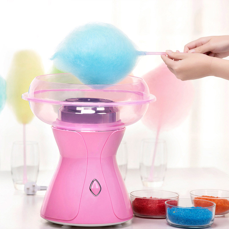 220V Household Electric Fancy Cotton Candy Maker Machine Mini Portable Cotton Suager Machine High Quality For Children Gift fancy pants candy corn