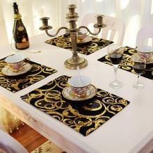 Eat mat home kitchen table decoration Table Mats mats pads Placemat Kitchen Decor European style