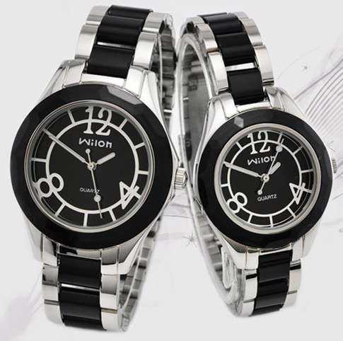 New Wilon Rhinestone Ceramics Watches Women Man Lover Stylish Casual Watch Quartz Dress Wristwatches Clock Female Montre Homme