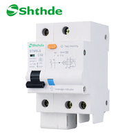 Shthde STM6LE Residual Current Circuit Breaker STM6LE 1P N C32A RCCB Tianhui Electric Earth Leakage Circuit