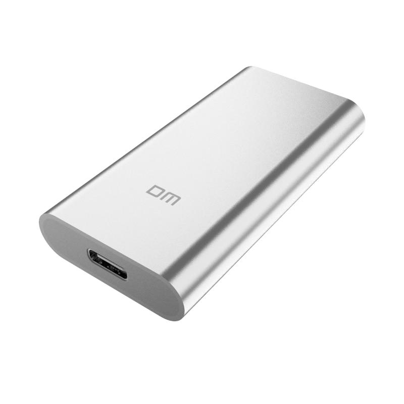 Disque dur externe DM SSD 256GB SSD 512GB disque dur externe Portable SSD hdd pour ordinateur Portable avec USB 3.1 de Type C