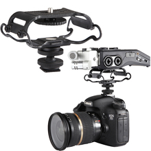 Microphone Shock mount for Zoom H4n/H5/H6, for Sony Tascam DR-40/DR-05 Recorders microfone shockmount for Zoom Olympus Tascam