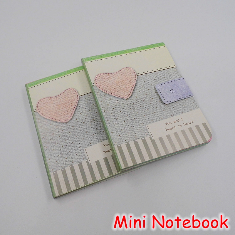 8 pieceslot cute school stationery color page mini paper notebook kawaii portable notepad office supplies