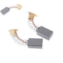 Mini perceuse électrique 15x10x6mm, 2 pièces, broyeur électrique, remplacement de balais de carbone, pièces de rechange pour moteurs électriques, outil rotatif