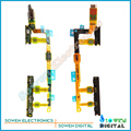 Para sony xperia z3 compact mini m55w d5803 d5833 lado botón de volumen power on/off interruptor vibrador Flex Cable Principal de Mejor calidad