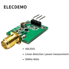 ADL5501 Module Power Detector Module RF 50M-4G Power Measurement Power Meter Linear Detection Function demo board ups power expansion board with rtc measurement 5v output serial port function