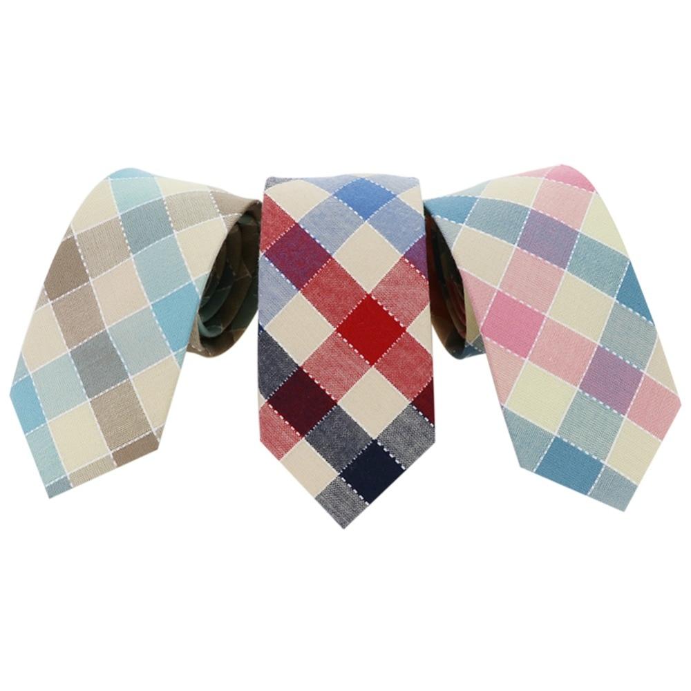 Mantieqingway 6,5 cm biznesa kostīmi kokvilnas kaklasaites kaklasaites vīriešiem oficiāls kāzu rotāts žakarda kaklasaite zīmols vīriešu pušķis Cravat