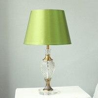 Tuda envío libre estilo rural americano lámpara de mesa de cristal lámpara de mesa decorativa originalidad Decoración para el hogar E27