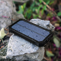Portable Solar Power Bank 15000mah Solar Charger Battery Backput For Xiaomi IPhone Samsung HTC Lg Ipad