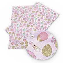 Hairbows Faux-Synthetic-Leather Fabric Craft-Material Easter Sewing Heart-Printed Bag
