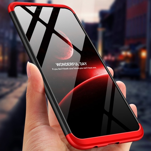 For Huawei Mate 20 Lite Case 360 Degree Full Protection Hard PC Shockproof Matte Case For Huawei Mate 20 Lite ProCoque Etui Kryt