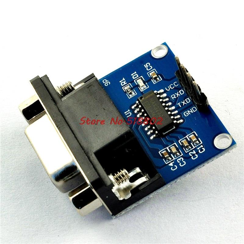 1pcs/lot RS232 To TTL Converter  COM Serial Port Board MAX3232 MAX232CSE In Stock