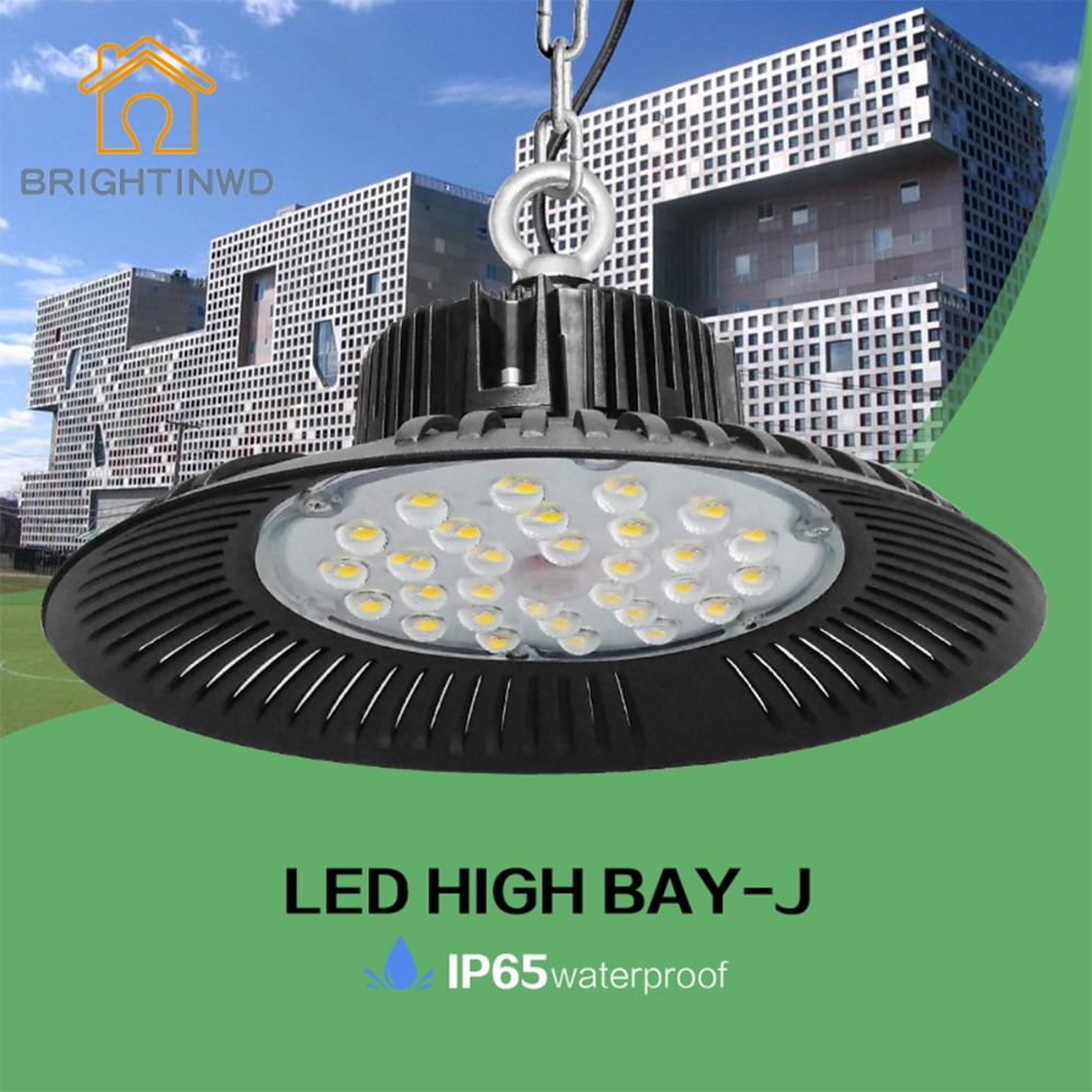Us 95 89 39 Off Ufo Led High Bay Light 6000k Ip65 Ac220 240v Aluminium Mining Highbay Lamp 100w 150w 200w Brightinwd In Industrial Lighting From