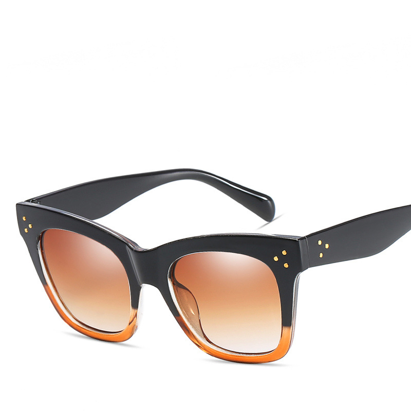 LONSY Fashion High Quality Square Sunglasses Women Brand Designer Vintage Female Ladies Sun Glasses Women oculos UV400 CJ9768