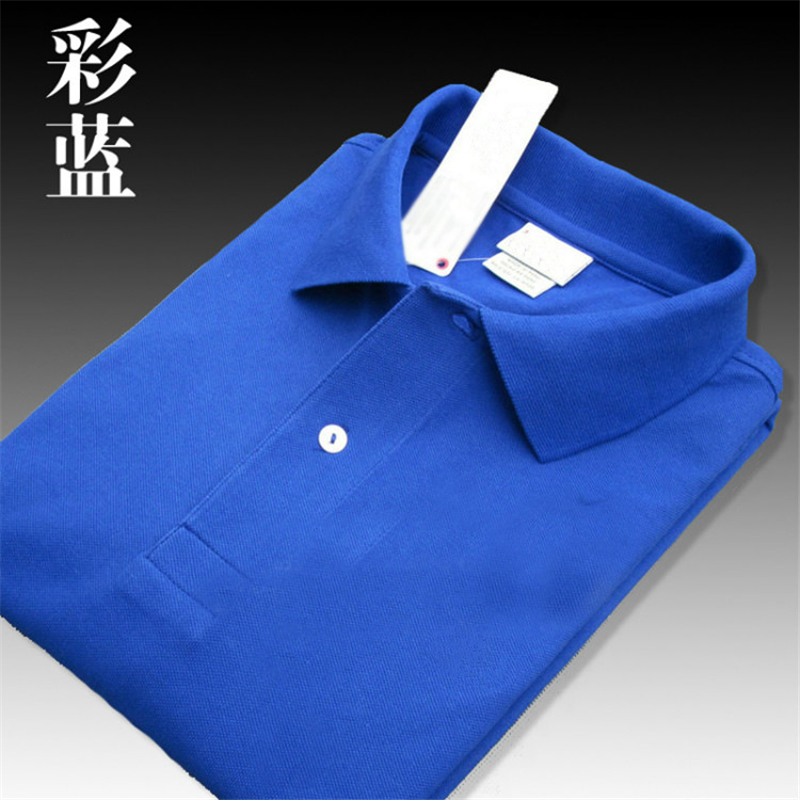 2019 High quality crocodil logo   Polo   classic brand Men   Polo   Shirt Men Business Casual solid Short Sleeve breathable   polos   S-4XL