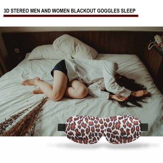 Korean Version Of 3D Eye Mask Shading 3D Eye Mask Sleep Stereo Eye Mask Men And Women Cute Cartoon Eye Mask 3
