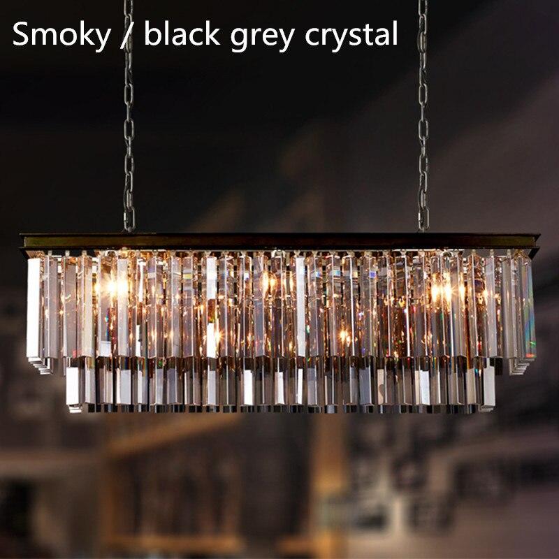 black crystal hanglampen koop goedkope black crystal hanglampen