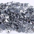 El Envío Gratuito! 1440 unids/lote, ss6 (1.9-2.1mm) de la Alta Calidad DMC Crystal Clear Color Hierro En Rhinestones/Rhinestones calientes del arreglo