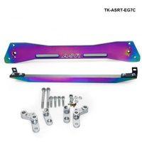 Car Billet Aluminum jdm Neochrome Rear Subframe Bar + Lower Tie Bar For Honda Civic 92 95 EG Suspension TK ASRT EG7C