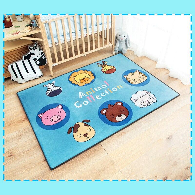 Bébé infantile jouer tapis enfants ramper tapis tapis de sol bébé literie tapis épais jeu Pad enfants chambre décor pour bébé cadeaux