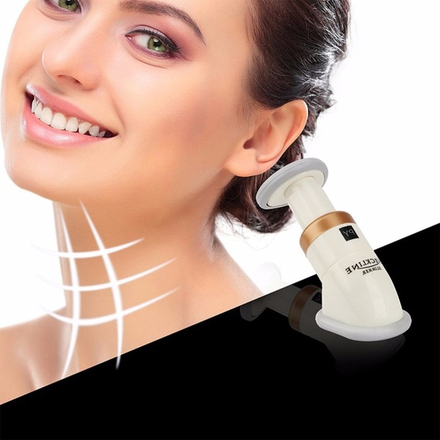 Masajeador de mentón cuello adelgazante ejercitador portátil profesional Reduce la eliminación de doble barbilla reducir la grasa de doble mandíbula