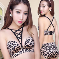 4bed73739d7 Europe and the United States small chest bra set sexy underwear sutian wireless  bralette size the