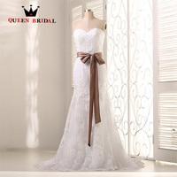 A linha Tulle Lace Casamento Elegante Vestidos de noiva Robe De Mariee 2017 Custom Made Strapless Vestidos De Casamento ZY20