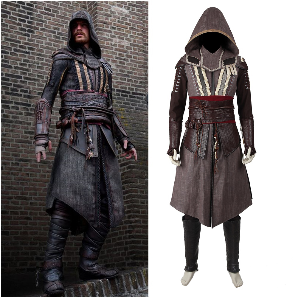 AC Callum Lynch Knight Cosplay Costume Men Outfit Suit