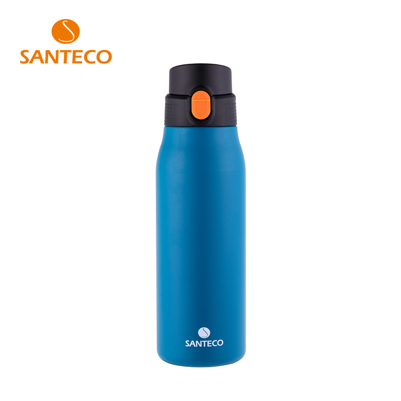 Santeco Super Light Bottle Thermos 304 Stainless Steel 6-12 Hours Insulation Coffee Bottle BPA Free 800ml