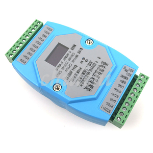 Image 2 - 6 웨이 oled pt100 pt1000 cu50 cu100 ni1000 온도 수집 모듈 온도 트랜스미터 modbus rtu