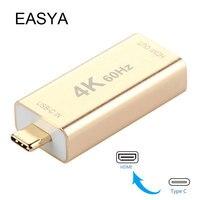 EASYA Thunderbolt USB Type C Hub To HDMI Adapter 4K 60KZ Mini USB C Hub Devices