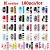 100pcs Hot Nail Art Patch Sticker Mix Designs Full Cover Adhesive Nail Wraps DIY Nail Accessories