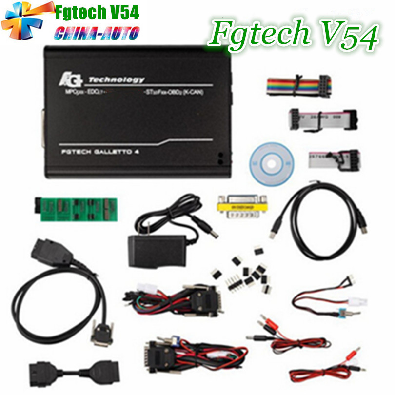 2018 Best Version fgtech Galetto 4 Master ECU Chip Tuning Tool FG Tech v54 BDM-TriCore OBD Support BDM Function