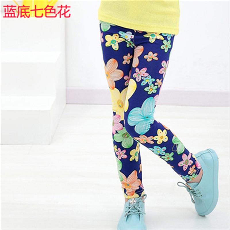 New Style Spring Autumn Children Leggings Flower Butterfly girls pants kids legging 17
