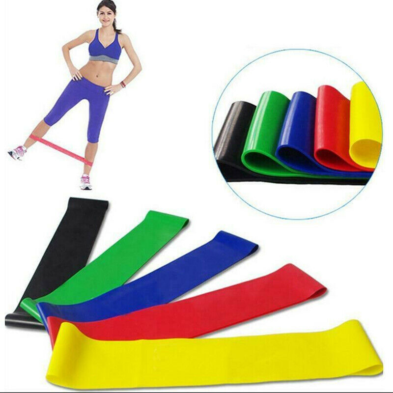 Proworks Resistance Bands | Heavy Duty Exercise Fitness Loop Set For Gym Stretch