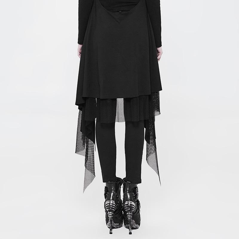 Женские обтягивающие брюки в стиле панк WK 319NCF - 3
