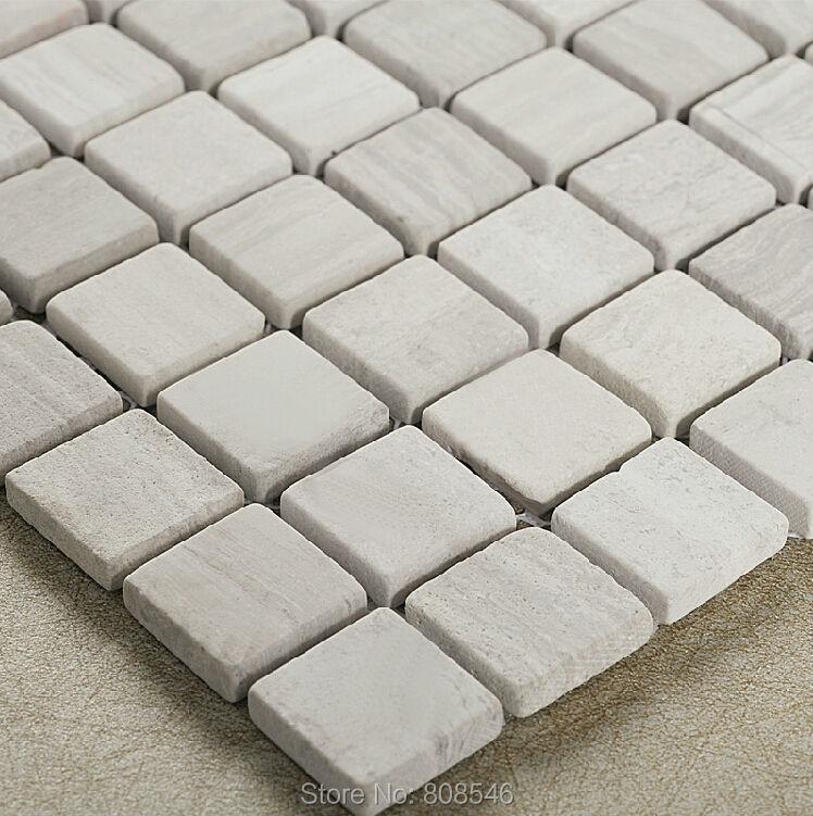 Marble Mosaic Stone Mosaic Woodgrain Mosaic Tile Md 1314 Wall Tile