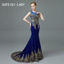 2016 Free shipping  Dubai Arabic Mermaid Evening Dresses Long white Black red Royal blue Formal Prom Gowns robe de soiree longue