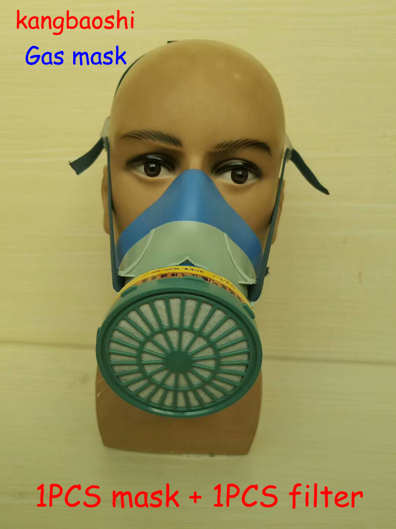 306D respirator gas mask high quality Silica gel protective mask against 14 Species Toxic gas Effective protection filter mask 6200 n95 double gas mask protection filter chemical respirator mask