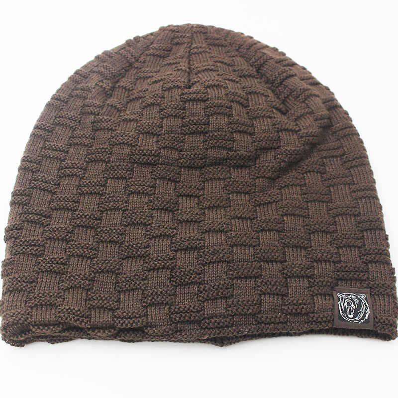 ... Miaoxi nueva moda hombres mujeres nieve casuales de invierno gorros de 6  colores favorito sombrero de ... 8697832e006