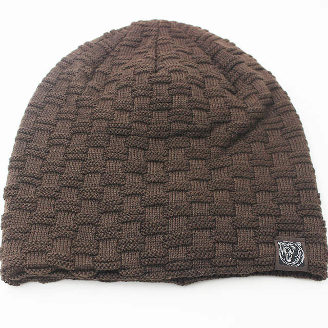 476a3c18280a7 placeholder miaoxi New Fashion Men Women Warm Snow Winter Casual Beanies  Solid 6 Colors Favourite Knit Hat