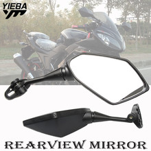 цена на Motorcycle Motorbike Mirror rearview mirror For Honda VFR800 2002 2003 2004 2005 2006 2007 2008 CBR954 1998-2003 CBR1000RR 04-07